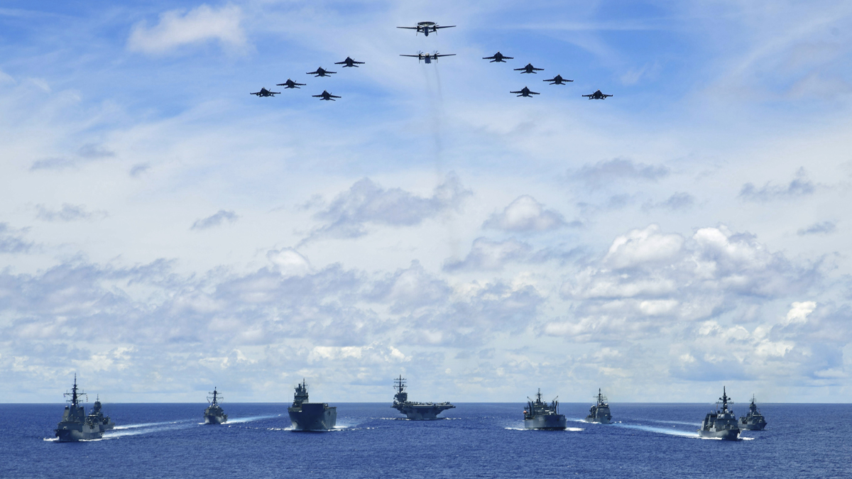 コロナ ネパ 合同軍事演習 集結 海洋進出に関連した画像-02