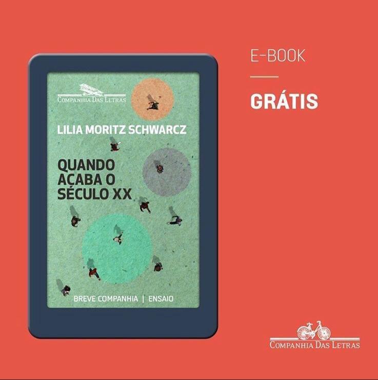 Acaba de sair meu livro novo e ele está disponível gratuitamente. Publicado em e-book, o livro está disponível  na @amazonbrasil, @kobobooks, @applebook e Google Play. Para encontrar os links, entre no post no blog da Companhia das Letras: