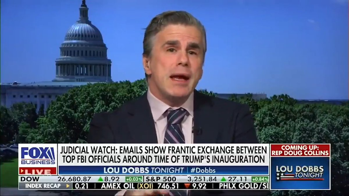 """""""Steele just admitted that he knew that #HillaryClinton directly knew about the dossier. Why isn't Hillary Clinton being questioned by Durham?"""" Watch:"""