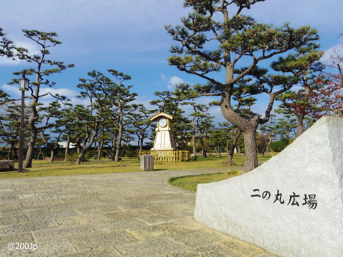 No.161 Kishiwada-jo #castle Ninomaru-Hiroba square and Ninomaru-Tamon-Yagura(restroom) 岸和田二の丸広場二の丸多聞櫓  #kishiwada