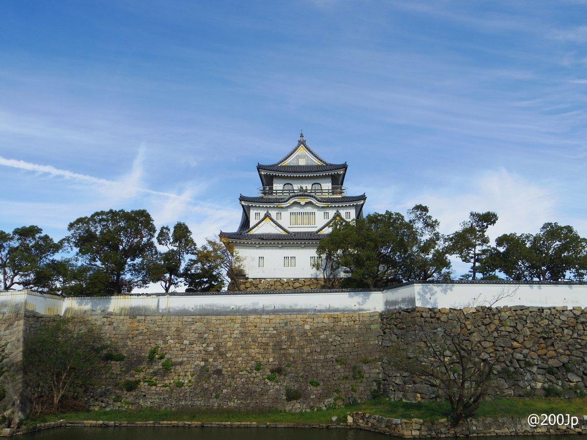 No.161 Kishiwada-jo #castle Donjon rebuilt in 1969 岸和田城天守  #kishiwada