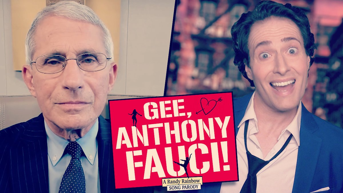 🎶What a guy, what a guy, what a lovely guy, like he only wants us not to die...🎶 💘😷 #GeeAnthonyFauci #Fauci