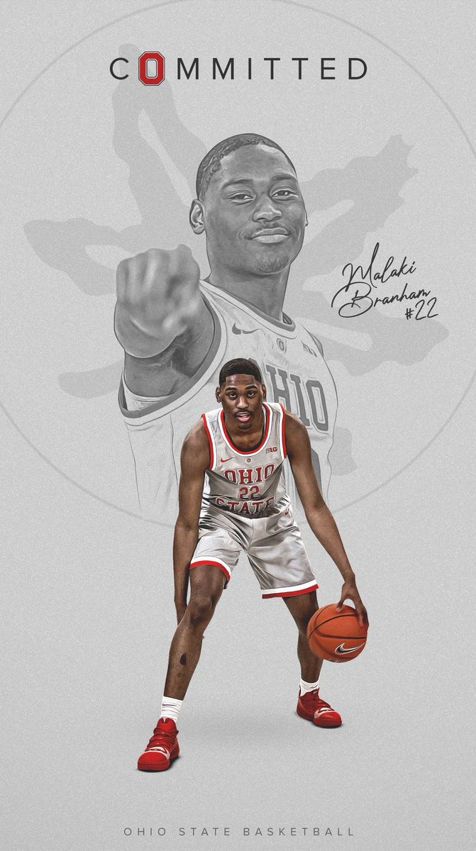 A HUGE #STVM congratulations to Malaki Branham VM21 on his commitment to @OhioStateHoops.  Malaki averaged 20.6 PPG, 5.9 RPG and was a Gatorade Player of the Year Candidate in 2019. Malaki is a 2018 State Champion, 2019 State Runner Up, and a 2020 District Champion.