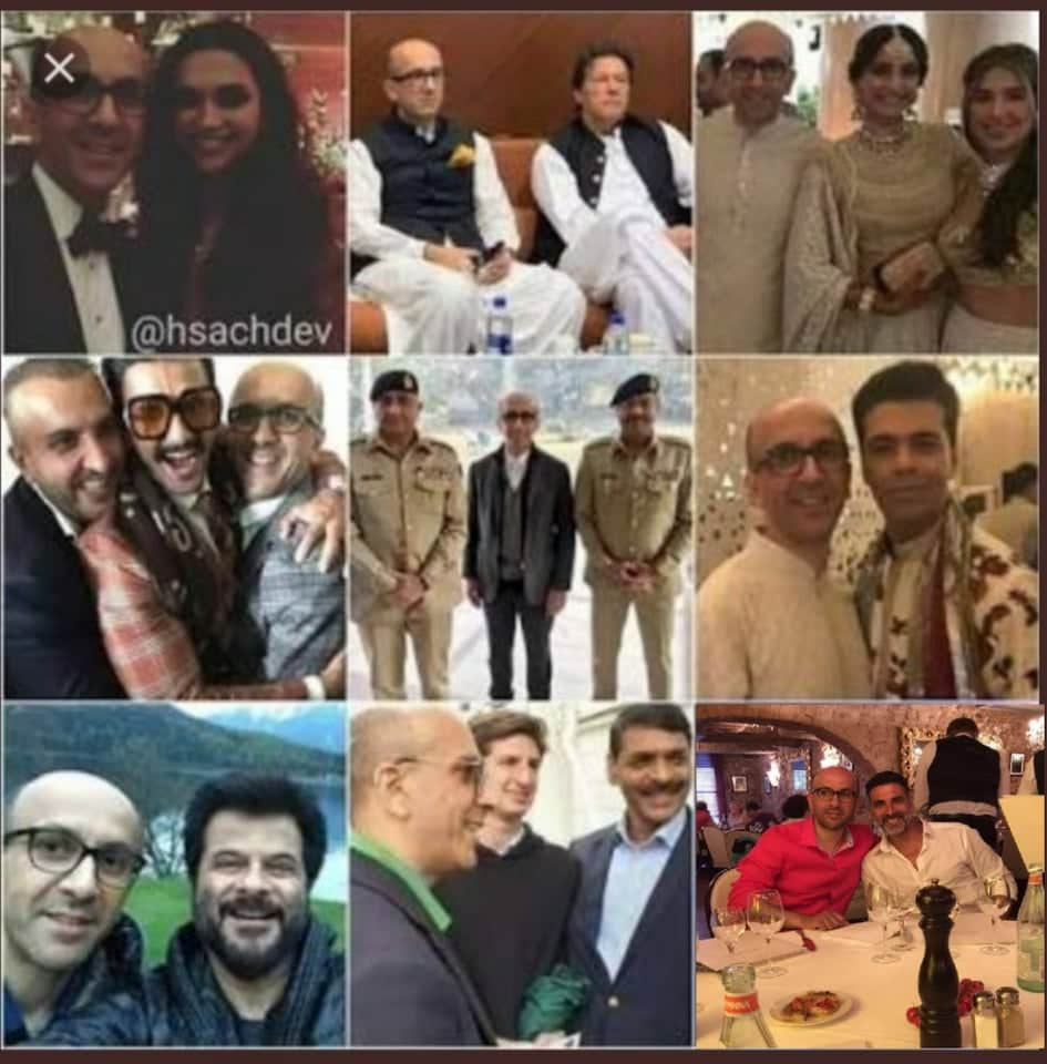 Many other Bollywood actors, actresses and singers including Anil Kapoor, Akshay Kumar, Ranveer Singh who are associated with Pak intelligence ISI but BJP broker channels will not take their names they will only target Shah Rukh Khan because Shah Rukh Khan is a Muslim @republic