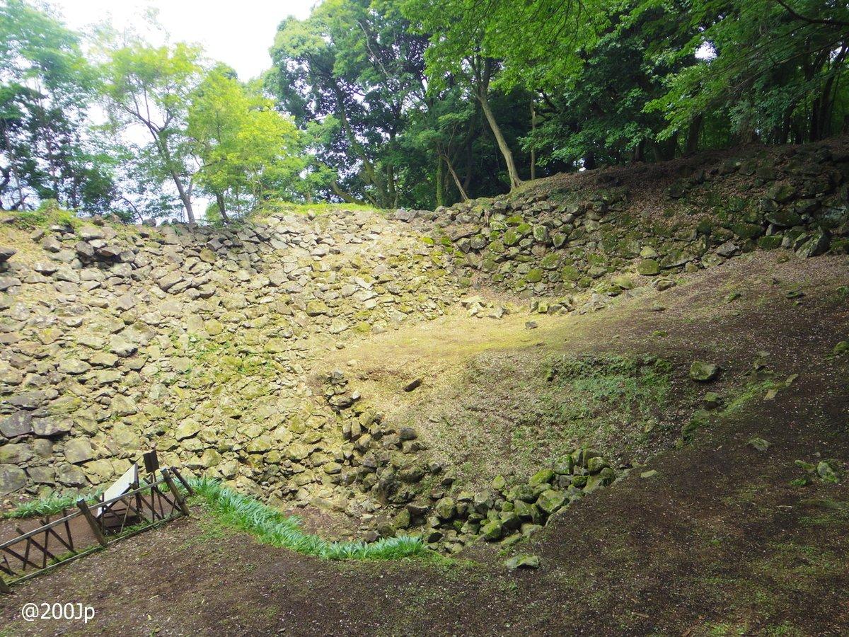No.126 Ishigaki-Yama #castle Site of Ido-Kuruwa(Well) 石垣山城 井戸曲輪  #odawara