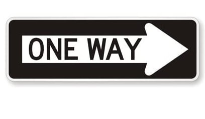 In honor of One Direction's 10th anniversary, we'll be extra enforcing one-way streets today.    -Hugs