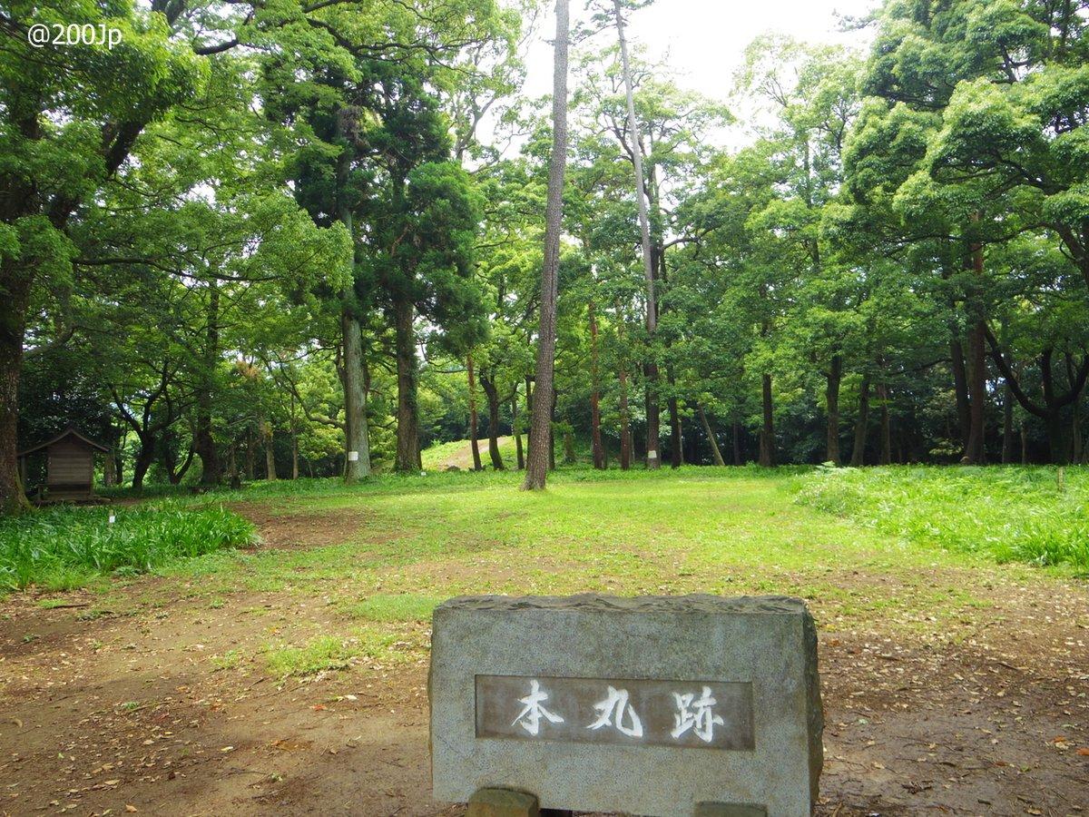 No.126 Ishigaki-Yama #castle Site of Inner Citadel and Site of Donjon 石垣山城 本丸跡と天守台跡  #odawara