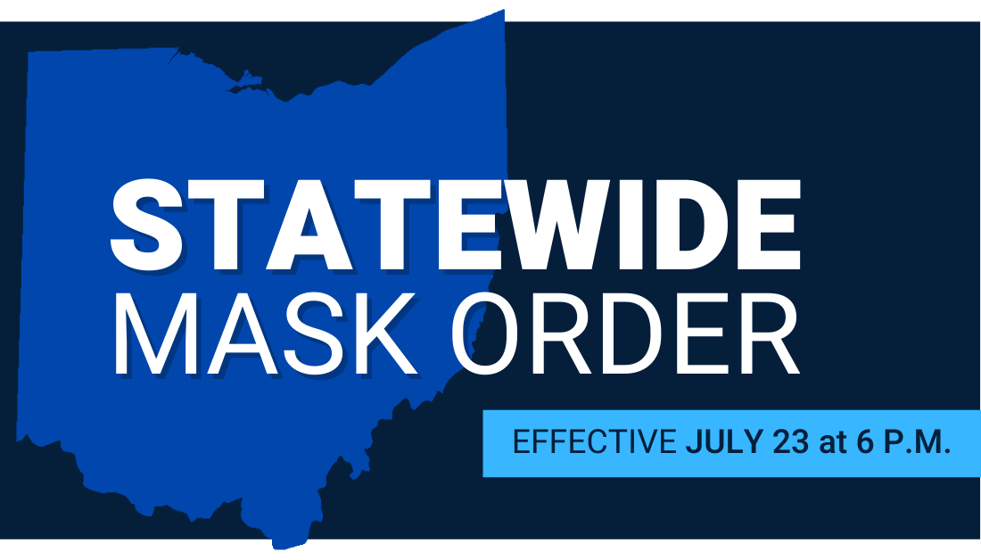 Mask up to keep our community open and control the spread of #COVID19.  #FindlayOhio #InThisTogetherOhio #InThisTogetherFindlay