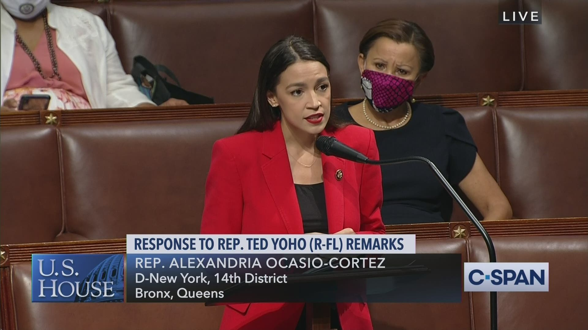 """Rep @AOC: """"I do not need Rep. Yoho to apologize to me. Clearly he does not want to. Clearly when given the opportunity he will not & I will not stay up late at night waiting for an apology from a man who has no remorse over calling women & using abusive language towards women."""" https://t.co/XKymFh3Oyf"""