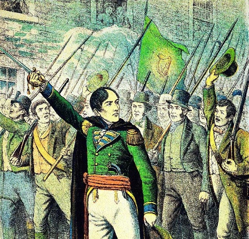 #OTD July 23rd 1803 - The failed Emmet Uprising. Veterans of the 1798 Rebellion marched on Dublin but poor leadership, confusion and quick military action prevented any successful takeover by the insurgents. Several casualties recorded on our database.