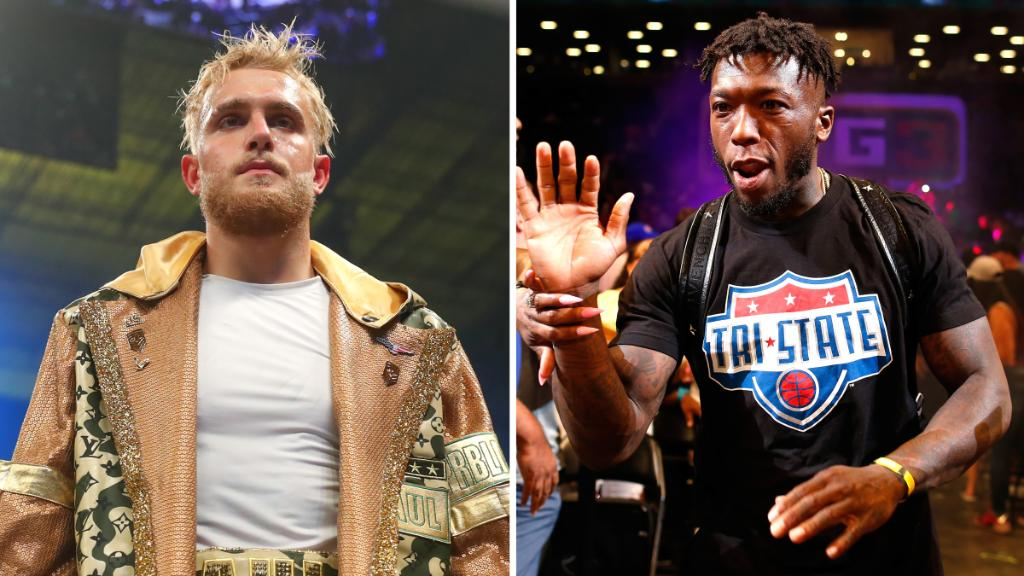 Former NBA player Nate Robinson and YouTube star Jake Paul will fight Sept. 12 as an undercard to the Mike Tyson-Roy Jones Jr. exhibition, they told The Athletic.   (h/t @ESPNRingside)