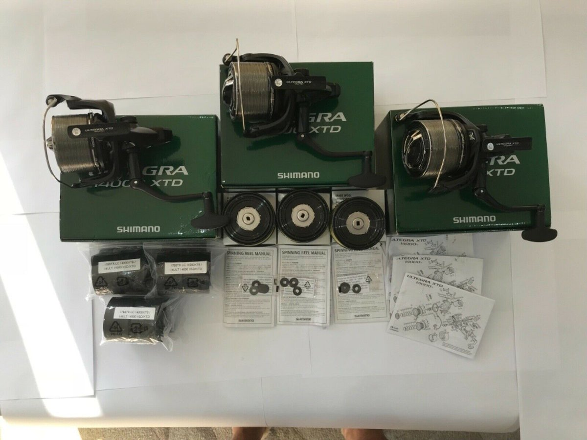 Ad - 3x SHIMANO ULTEGRA 14000 XTD BIG PIT REELS On eBay here -->> https://t.co/I9yjmBPUGg  #ca