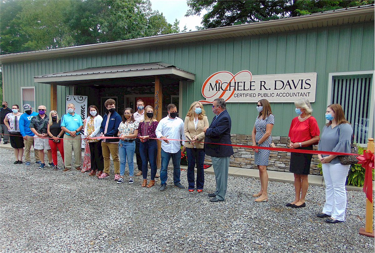 We appreciate ur long-time BRCCC support and activity in our community. Make sure to visit Michele R. Davis CPA new office at 2241 Ritter Dr Daniels WV   or    #BeckleyWV    #CPA  #ChamberOfCommerce  #RibbonCutting  #GrandOpening