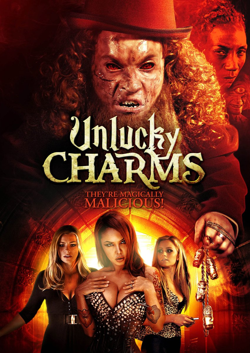 "@fullmoonhorror ""Unlucky Charms"" because I never get tired of seeing the Magically Malicious @masuimimax 😈🚀☘️"