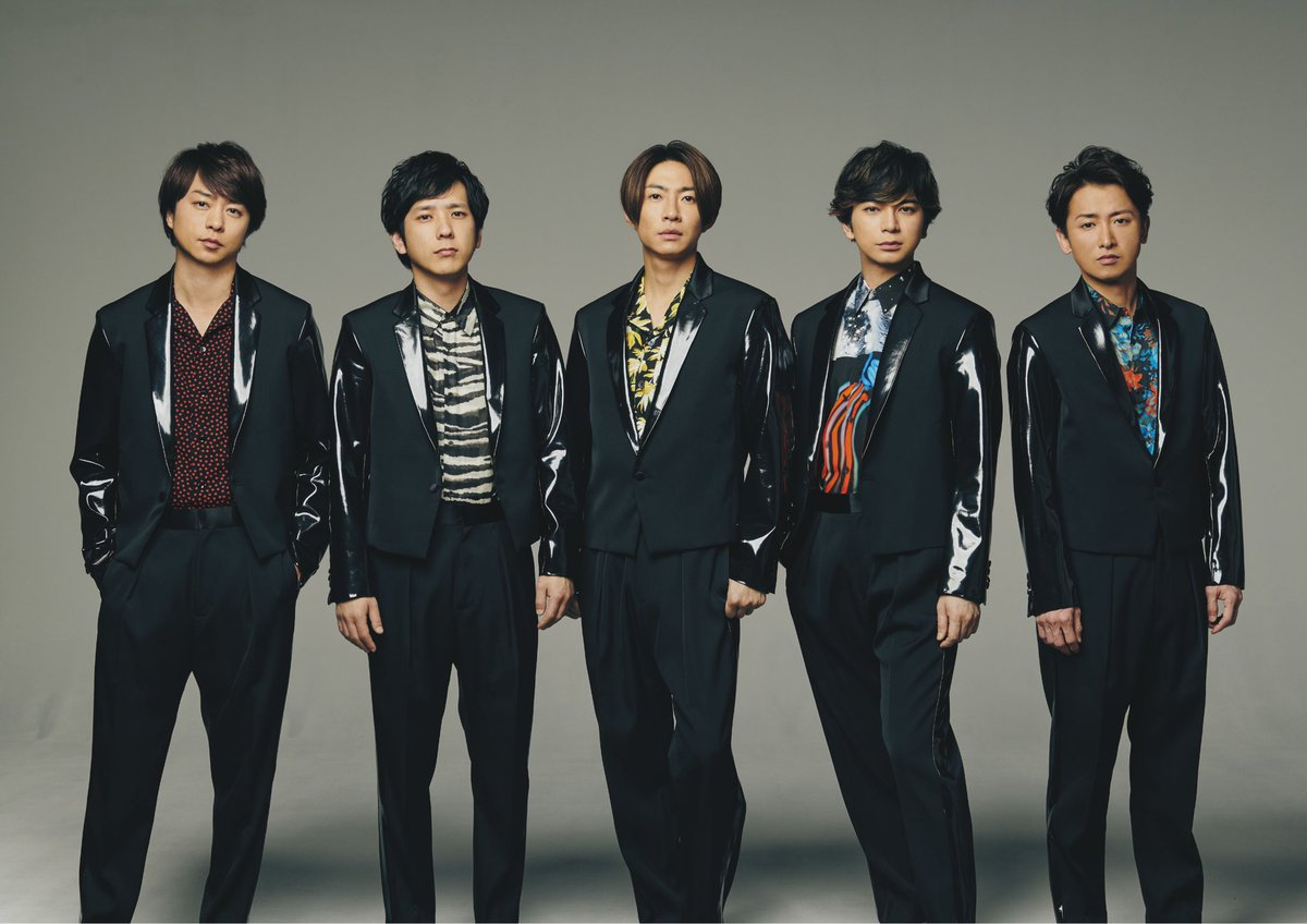 .@arashi5official bringing the summer heat with their new single #INTHESUMMER →