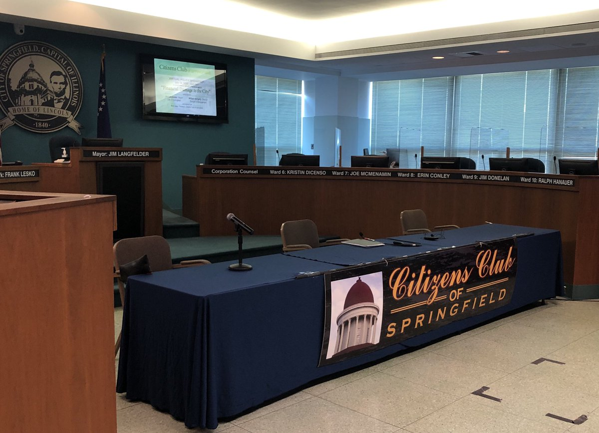 Citizens Club is virtual today @ 8a. Discussion on financial impact COVID-19 has had on City budget. Watch live on Comcast Cable 18, stream it live on the City website, or watch it on the Citizens Club Facebook page.