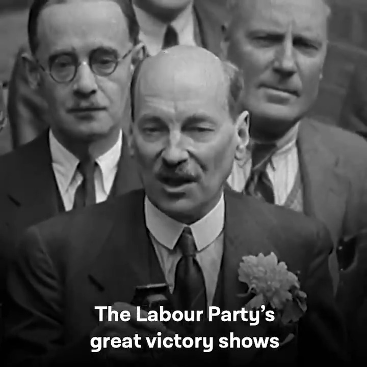 Clement Attlee's Labour Government said it wasn't good enough to go back to the old and unfair ways of doing things – and despite great challenges, transformed our society.   75 years later, their legacy lives on.