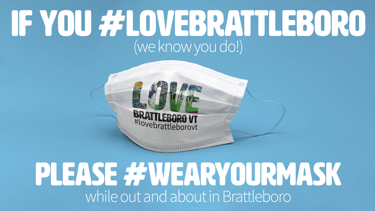 #maskonvt #lovebrattleborovt #wearyourmask @GovPhilScott