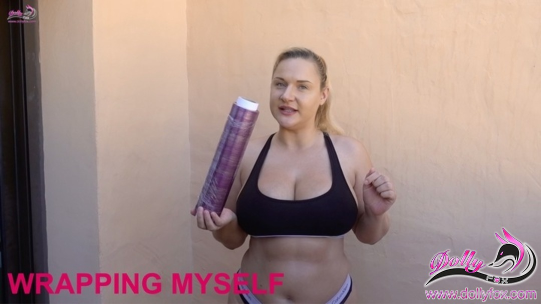 I've just uploaded a video to my video gallery: Wrapping Myself   Check it out on