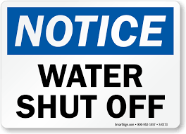 Effective Mon. July 27th, Water will shut off for up to 8 hours to the locations listed below. When your service is restored, YOU WILL BE UNDER A BOIL ORDER UNTIL FURTHER NOTICE.  Visit this link for more details -
