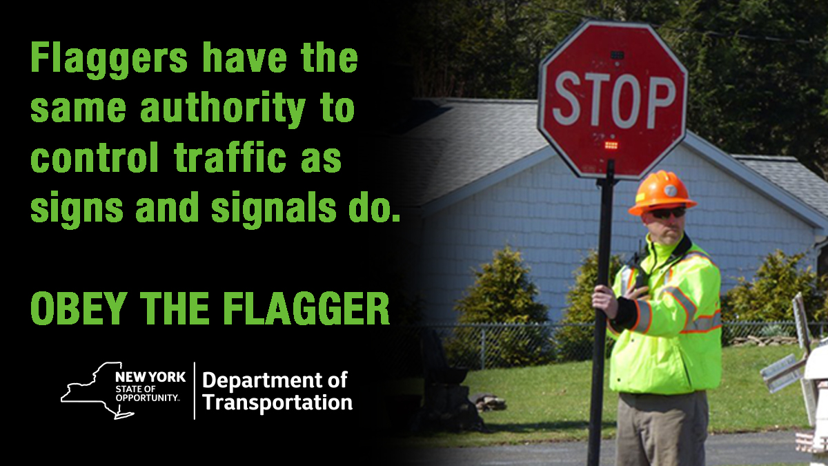 TRAVEL ADVISORY, OTSEGO COUNTY. NYS Route 28 in Milford, Hartwick & Otsego. Now thru August 4th. Be prepared to stop for flaggers controlling alternating traffic flow for a moving paving project. #ObeyTheFlagger