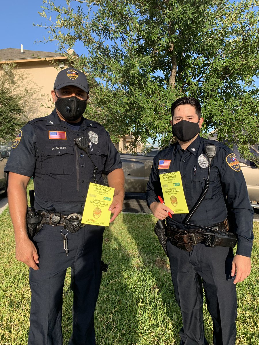 Reminding residents to #locktakehide. Car burglaries on the rise at apartment complexes.  Please make it a habit to secure 🔒 your vehicles.   #PreventCrime #LockYourCarLaredo #ItsPrettySimple