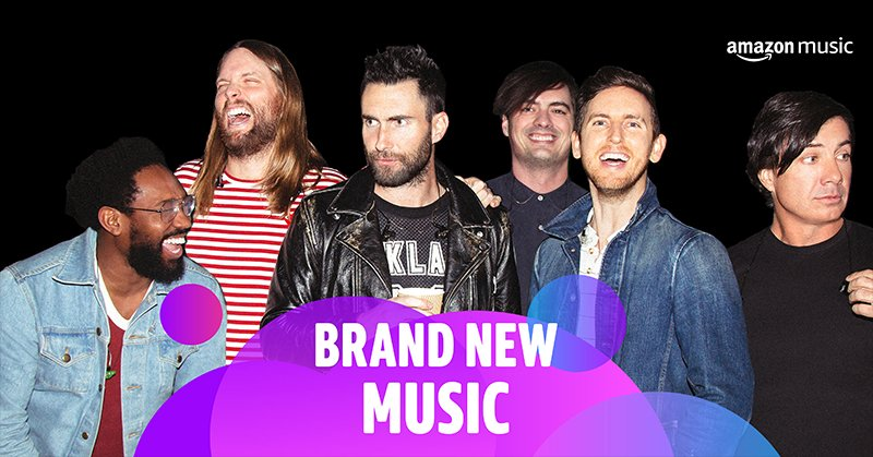 """Nobody's Love"" featured on @amazonmusic's Brand New Music Playlist!"
