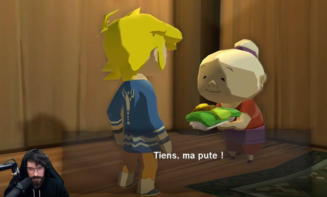 Je me tape en boucle le best of Zelda de @Myfuckinmess quel kiff bordel ahahahahah foncez si vous aimez les pets et l'humour drôle qui fait rire !