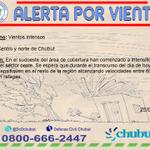 RT @DcChubut: 10:26 #AlertaMeteorologico  N°2 #VientosIntensos  @MinSegChubut   @Marceyapura   @radio3trelew https://t.co/NpfE0QpW1g