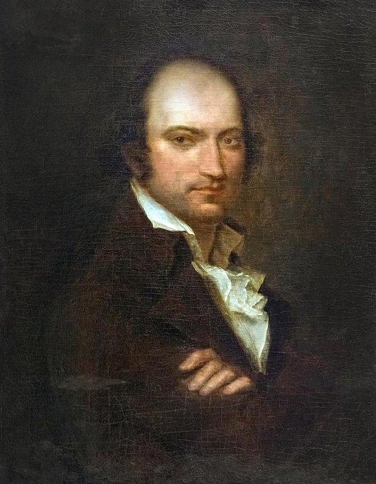 25 juillet 1794 Le poète et journaliste André #Chénier est guillotiné à #Paris, deux jours avant l'arrestation de #Robespierre. En montant à l'échafaud, il aurait dit : « Je n'ai rien fait pour la postérité » et en se désignant la tête « Pourtant, j'avais quelque chose là ! »