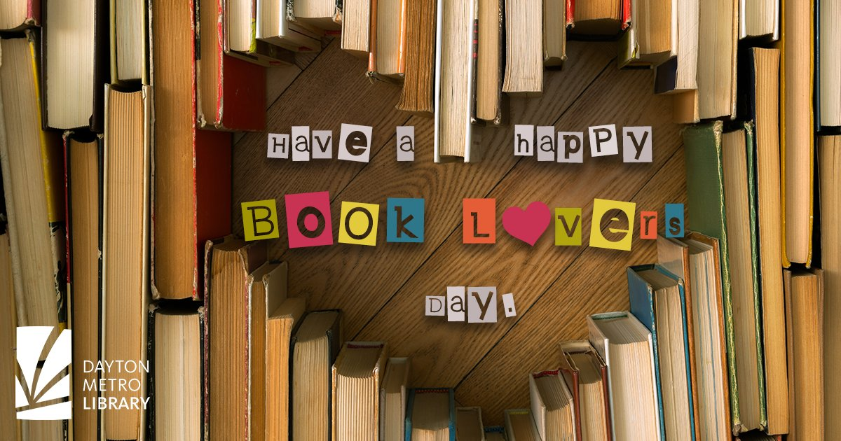 We think every day is book lovers day! Since today is the official day dedicated to those who love books, grab your favorite (or current) book and enjoy the day!