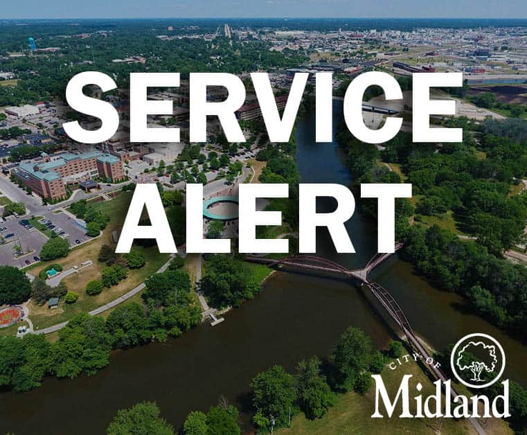 SERVICE ALERT: Water service is currently off for customers on Montrose Street from Elizabeth Street to W. Carpenter Street due to a water main break on Montrose. Crews are on-site for repairs. Expected restoration time is 4-6 hours.