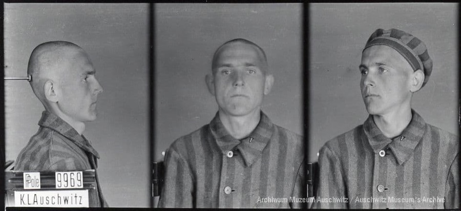 9 August 1920 | Pole Roman Skowroński was born in Warsaw. A driver.  In #Auschwitz from 1 February 1941. No. 9969 He perished in the camp on 14 August 1942.