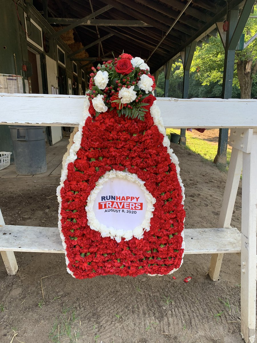 RT @sackatogastable: Good morning from Saratoga Springs