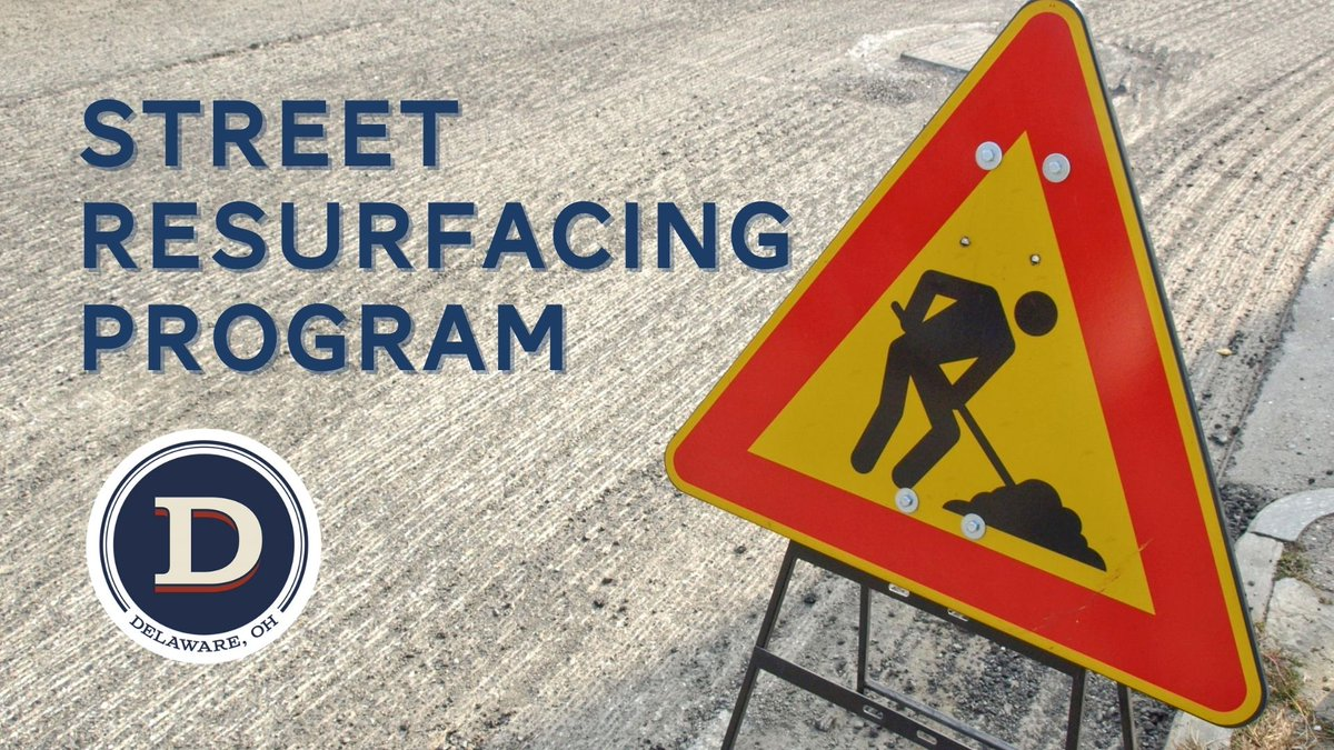 Our annual street resurfacing program kicks off tomorrow, August 10, and will continue through mid-September. For more information and to view the program map, visit