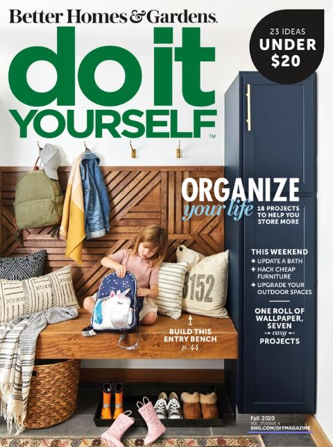23 fun project ideas under $20? Yes, please! Plus, find organization tips and weekend DIY projects in the latest issue of Do It Yourself magazine: