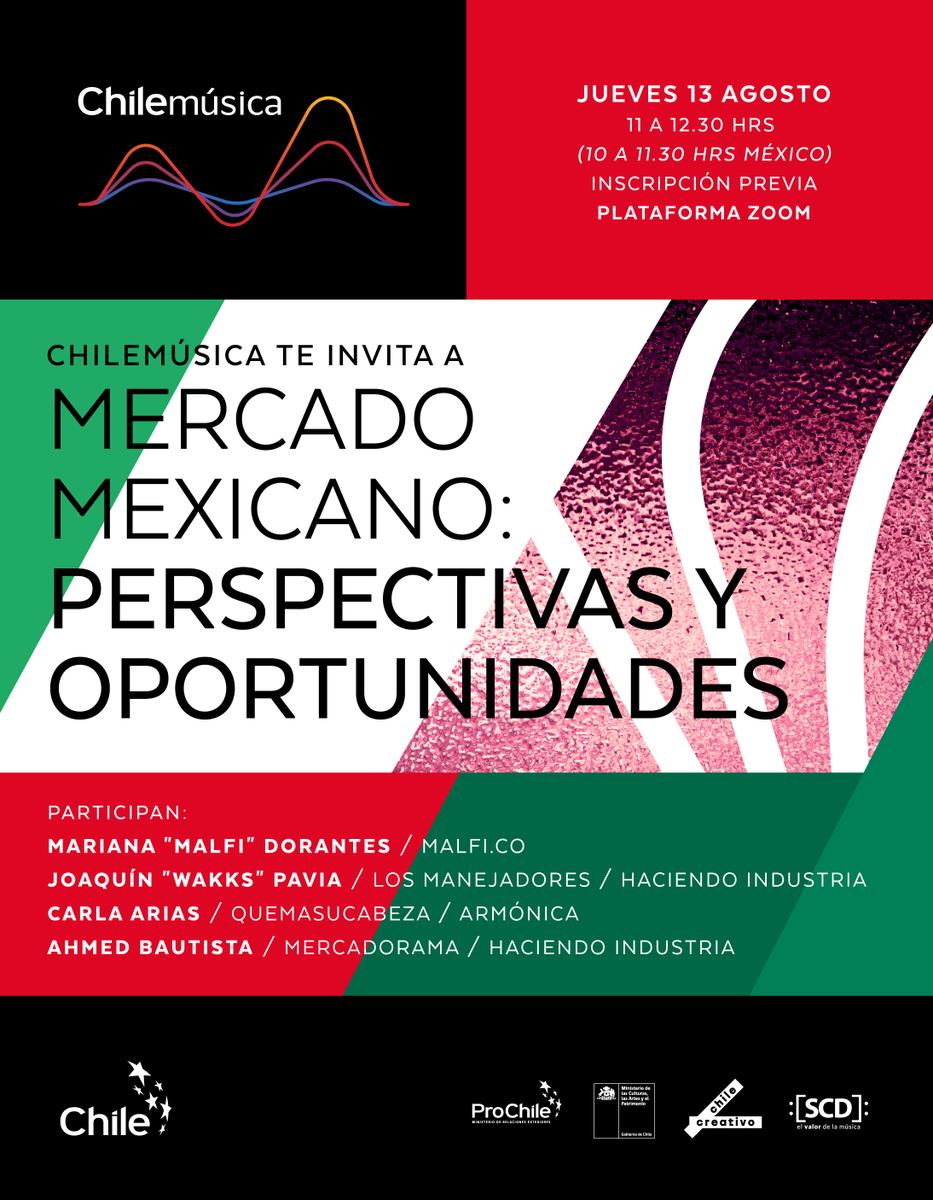 test Twitter Media - 📢 Artistas, productores, managers, organizaciones y agentes de la música chilena ➡️ un evento online y gratuito que rescata la vinculación cultural Chile-México, que ha alimentado el patrimonio de la música de ambos países🇨🇱🇲🇽 ✍🏼 Inscríbete en https://t.co/uCxyYk0m1t https://t.co/imgYmWnxGf