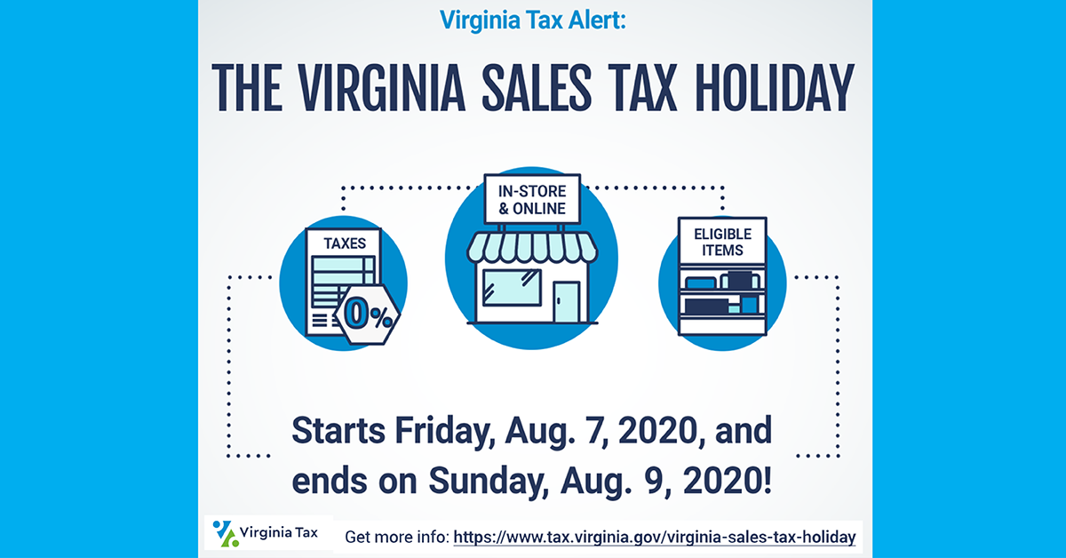 Happy Sales Tax Holiday weekend! Certain purchases are sales tax-free. Save on school clothes/supplies, emergency/hurricane preparedness items, water/energy conservation products.