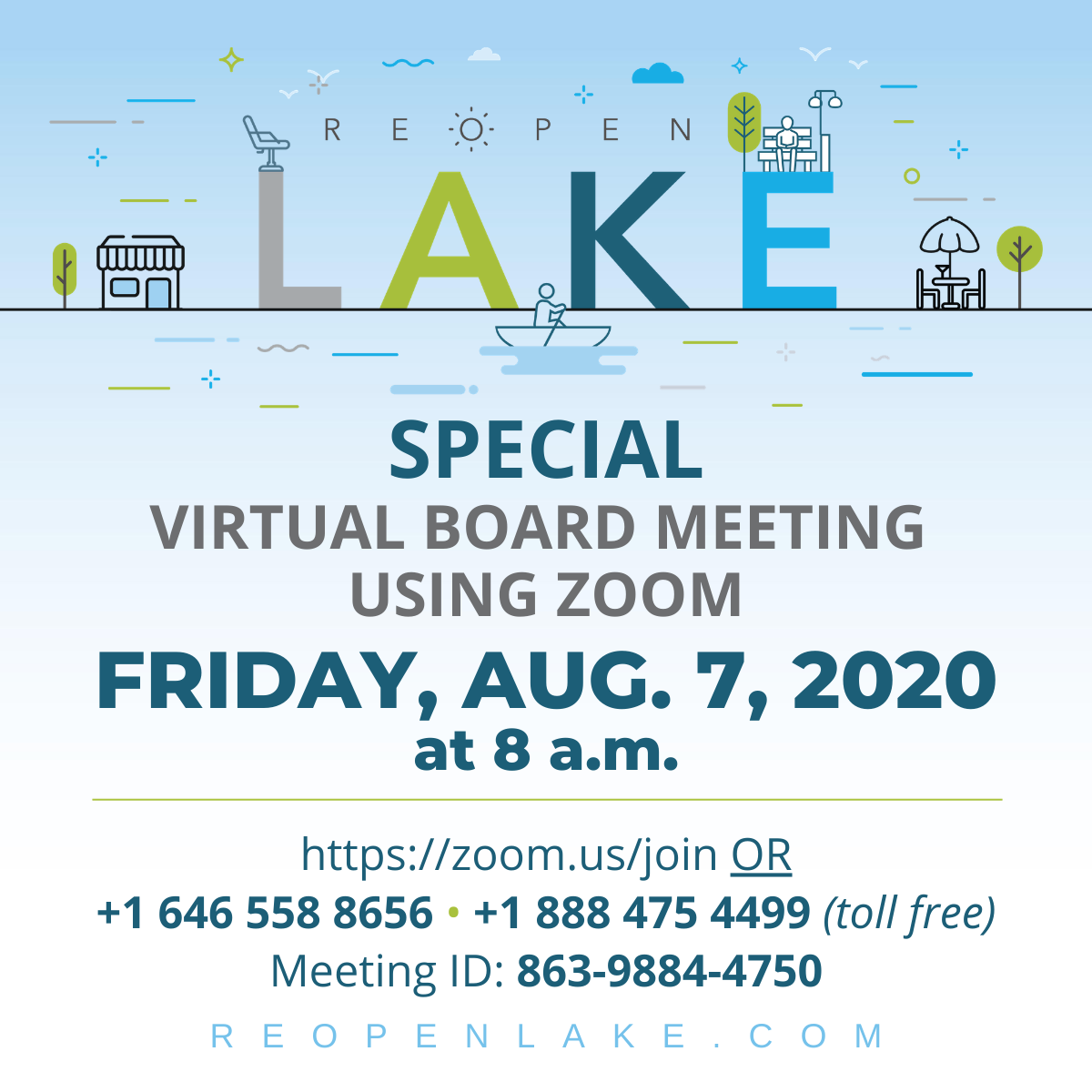 A special virtual-only County Commission meeting has been scheduled for this morning at 8 a.m. to discuss CARES Act funding.  - To view the livestream, visit  - To comment, connect via Zoom with the instructions in the graphic below.