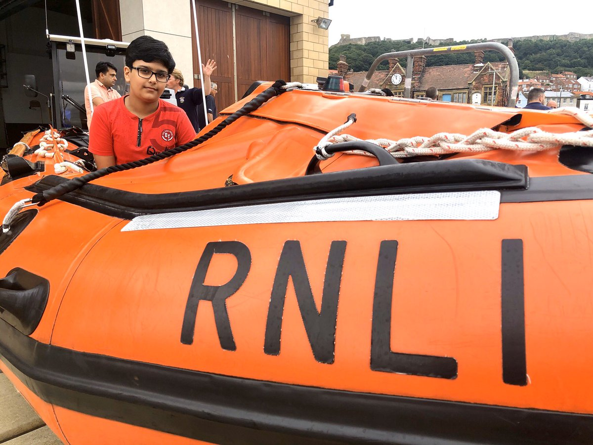 test Twitter Media - On @itvcalendar tonight at 6 you can watch Jon Hill's report on a 10 year old boy, Raviraj Saini was feared dead after being washed out to sea, but instead of thrashing around in a panic, he calmly floated on his back.@RNLIScarborough #news https://t.co/t02gbwLxVu