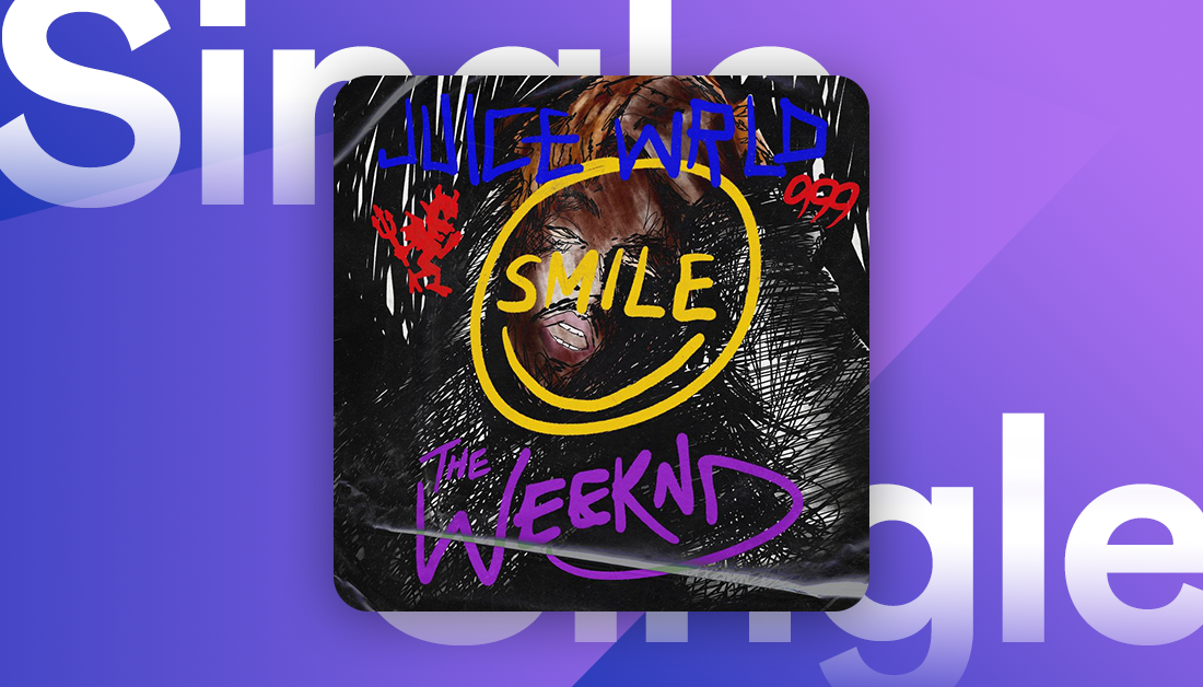 """""""I'd do anything in my power to see you just smile"""" 🎵  @theweeknd finally got the chance to record with @juiceworldddd and it sounds special  🙏  Listen now on Deezer."""