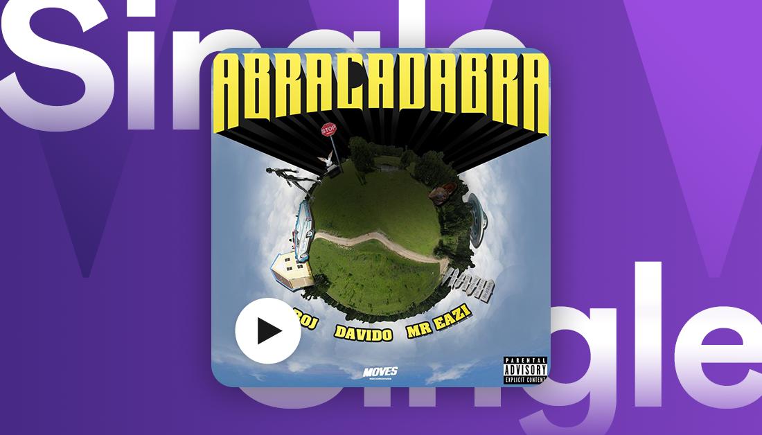 New music from @BojDRB x @davido x @mreazi 🔥  Listen to their new collaboration #abracadabra now on Deezer.