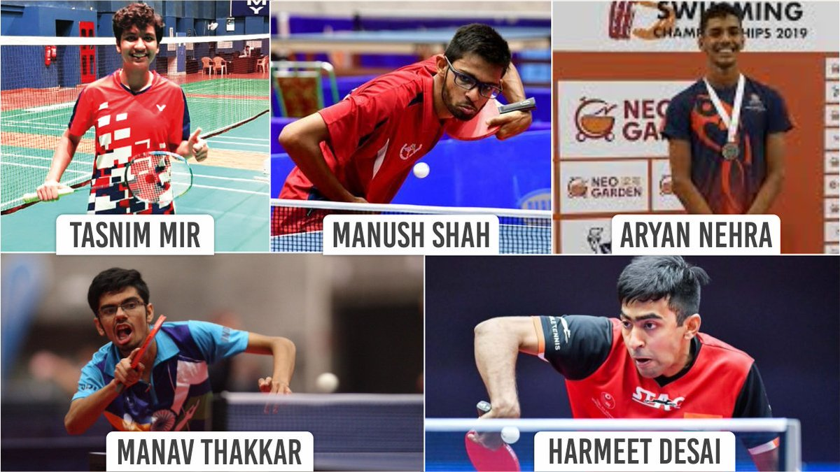 Glad to know that 5 #Gujarat athletes have been selected for the Target Olympics Podium Scheme (TOPS) development group. They will be groomed for 2024 & 2028 @Olympics edition. I am sure with the right training & determination, they will make #India proud.