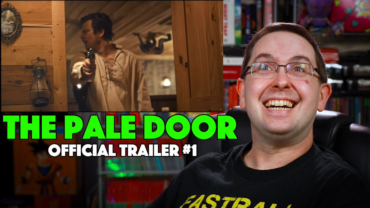 #ThePaleDoor Trailer Reaction here:   Cowboys and creepy things! Looks good to me! Enjoy!