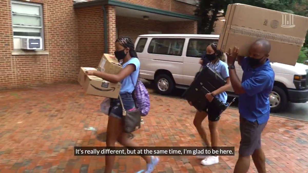 It's been a #UNC move-in week like no other. With face coverings, physical distancing standards and plenty of enthusiasm, some Tar Heels have moved onto campus. For many of them, it's the start of a new adventure as a Carolina student. For others, it's a return home 💙 http://…