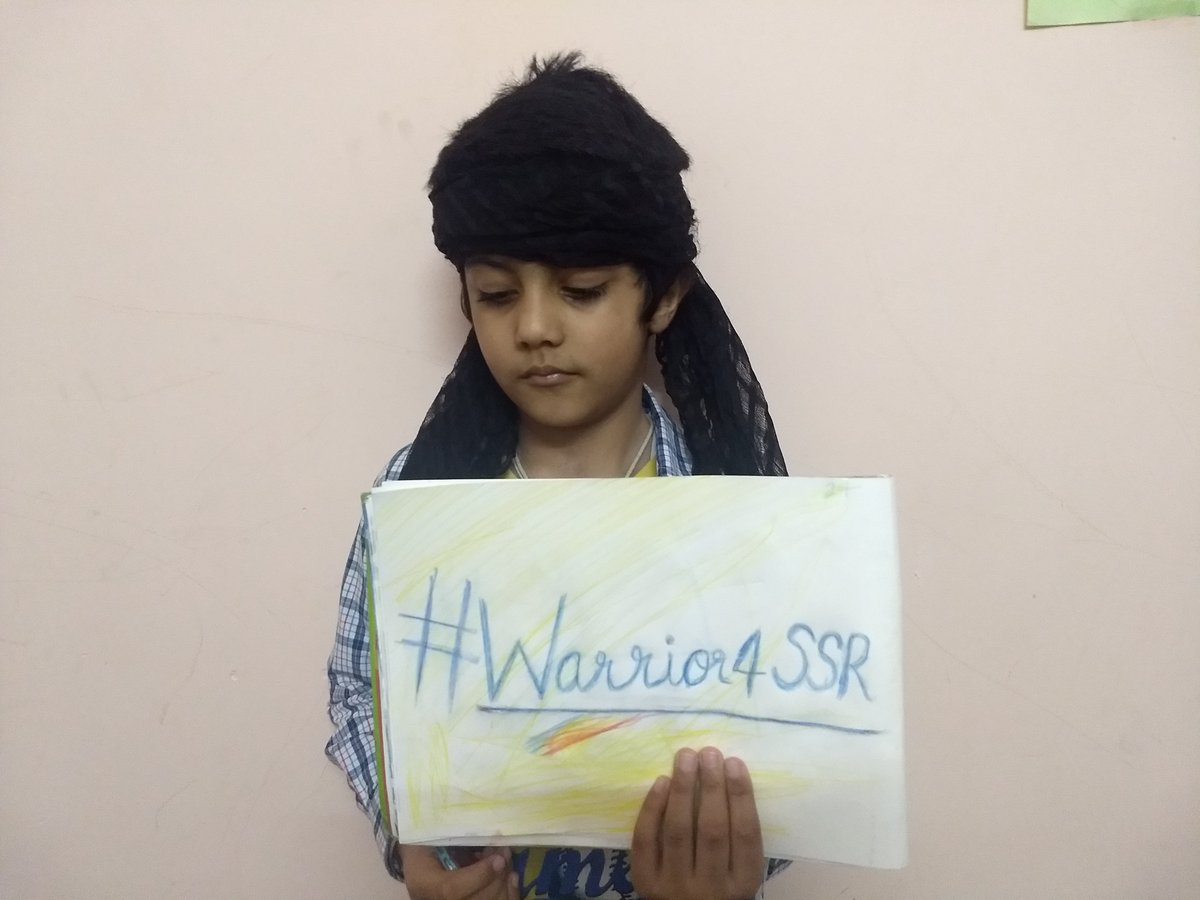 I am Youngest  #Warriors4SSR and will keep Fighting till @itsSSR maamu gets JUSTICE @narendramodi ji @ishkarnBHANDARI @Swamy39 @shwetasinghkirt @mayureshkrishna @vikirti @republic #HarHarMahadev #JaiSiyaRam