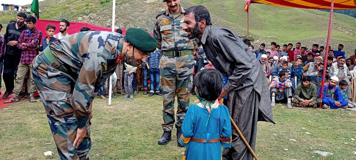 On the first anniversary of Abrogation of Articles 370 & 35A people celebrated with Indian Army.  This is the Bangus Mela. This is the truth of Kashmir...and NOT what some politicians tell you. The Indian Army protects and serves the nation. It is a force for good in Kashmir.