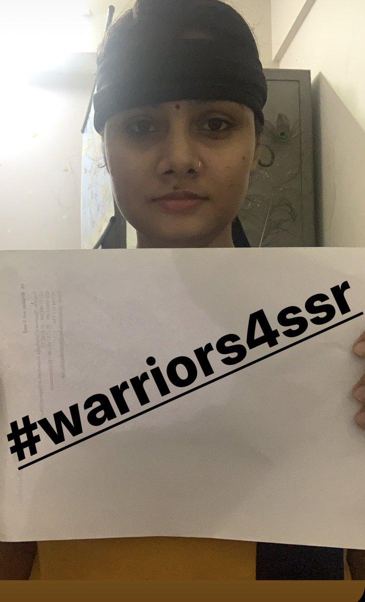 #Warrior4SSR @ishkarnBHANDARI @republic @arnabofficial7 @Swamy39 @RoopaSpeaks