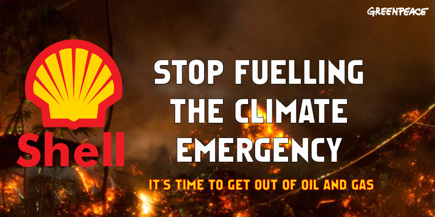 This week, BP committed to reducing its oil and gas production and investing in more renewable energy.  @Shell, you've also contributed massively to the climate crisis, when will you take real action to reduce your planet-wrecking emissions? #ClimateEmergency   RT & tag @Shell!