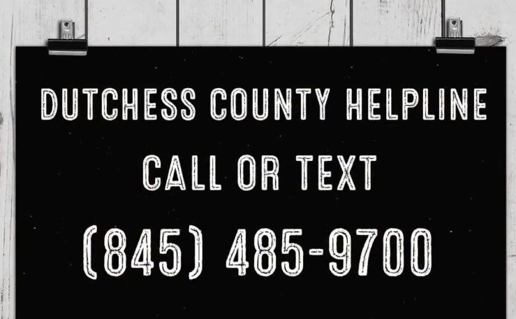 The past few months have brought anxiety and uncertainty to many of us, and if you feel the need to talk to someone about your feelings, trained professionals are just a phone call or text message away at the Dutchess County HELPLINE, available day or night at (845) 485-9700.